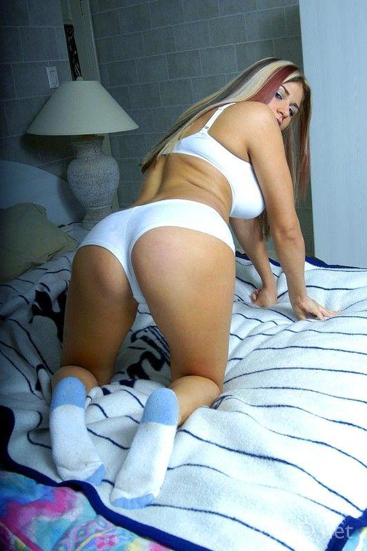 Culotte blanche